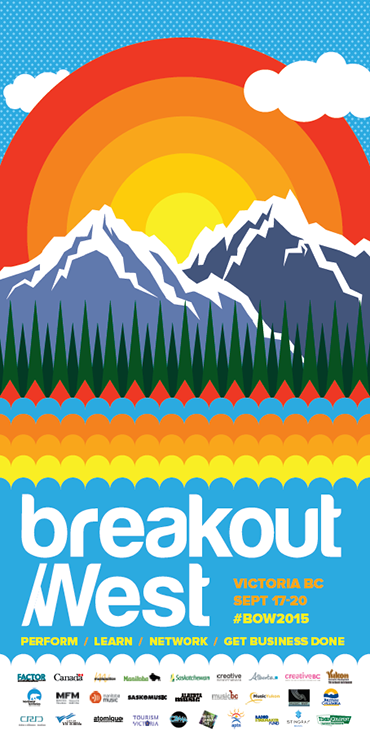 Breakout West 2015 Poster