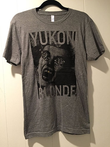 Yukon Blonde Band t-shirt