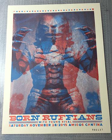 Born Ruffians Show Poster