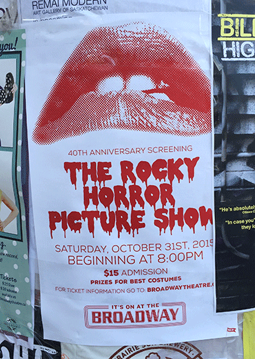 Broadway Theatre Show Poster