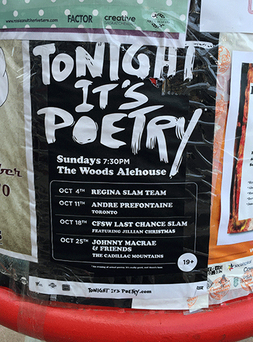 Tonight It's Poetry