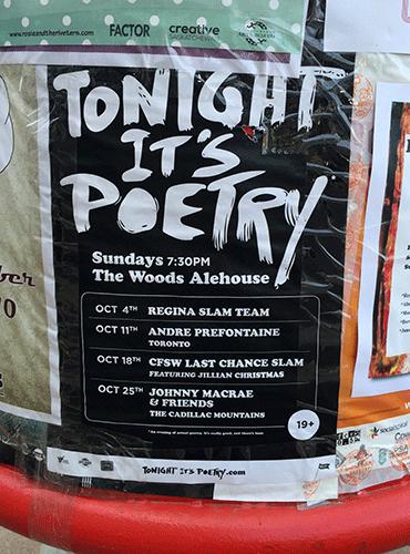 Tonight It's Poetry