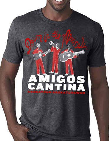 T-shirt design for Amigos Cantina