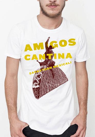 T-shirt for Amigos Cantina